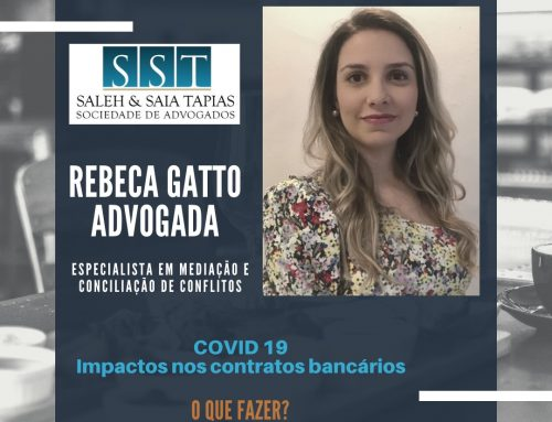 COVID 19: Contratos e dívidas bancárias
